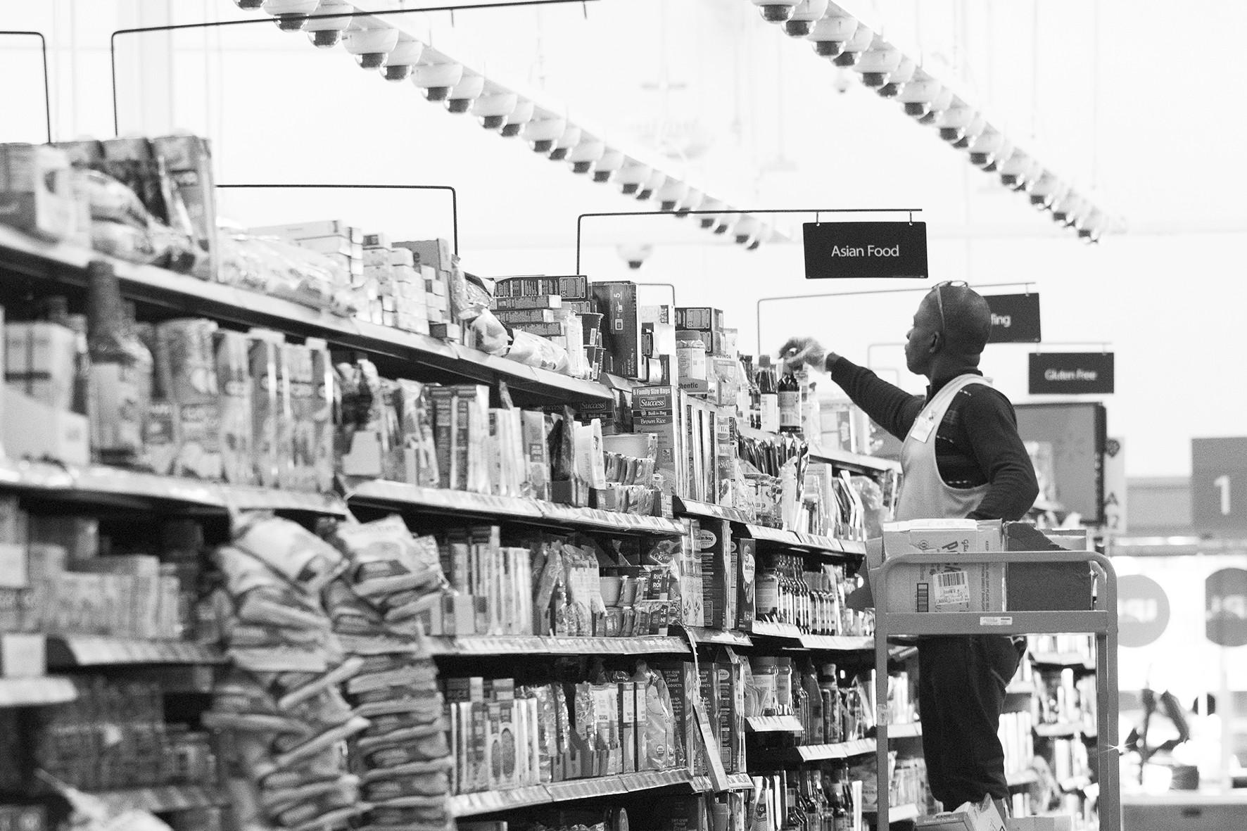 图片新闻:AI超市