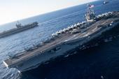 美军双航母地中海秀武力