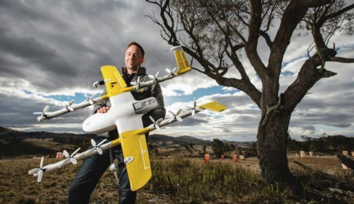 谷歌無人機送貨獲運營牌照:將先展開外賣業務