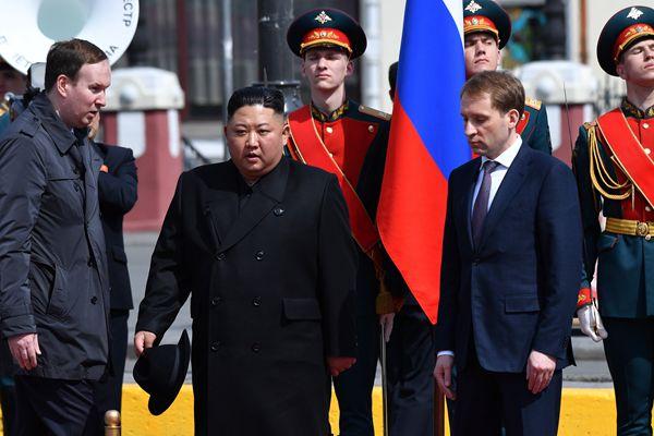 朝鲜领导人金正恩结束对俄访问 启程回国