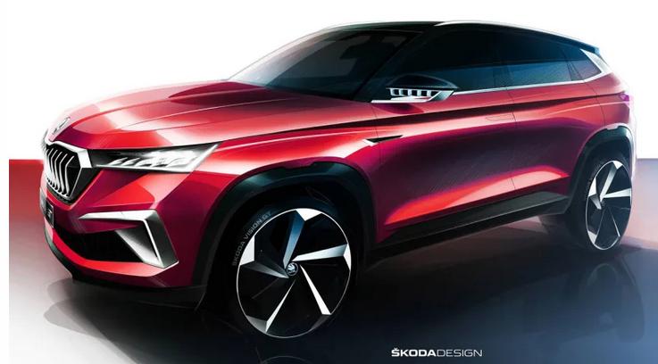 斯柯达公布Vision GT概念车设计图 或深圳车展首秀