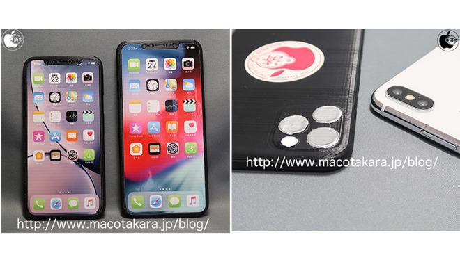 苹果2019款iPhone 3D模型对比现款iPhone