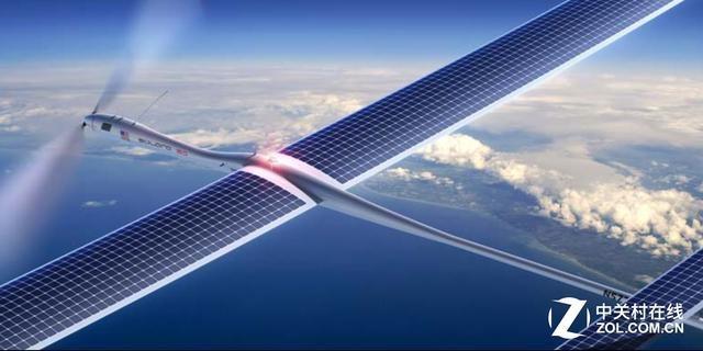软银与谷歌联手建空中网络基站 用无人机