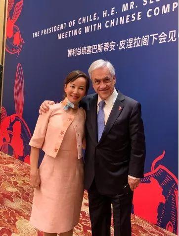 智利总统会见携程CEO 旅游助推中国智利民心相遇
