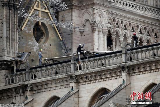 专家:需要约4个月时间来确保巴黎圣母院安全