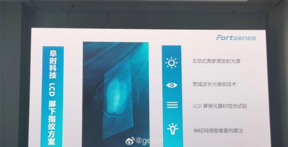 小米王腾:2020年将启用LCD屏下指纹识别技术