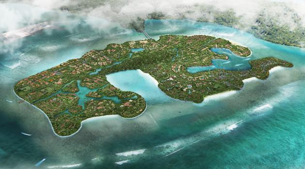 巴厘龟乐龟乐岛科技园签署合作协议 进入高科技公司