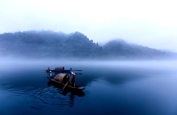 郴州·小东江:描来淡墨瑶池近