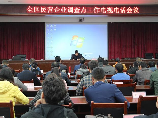 西藏民营企业调查点工作电视电话会议召开