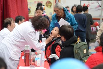儿童健康体验课堂进社区