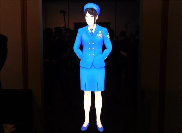 日本推出世界首个虚拟警备员:真人大小、AI加持
