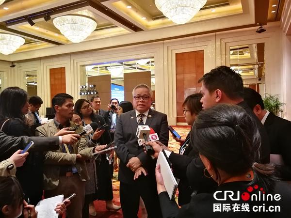 菲律宾贸工部长:十分赞同习近平演讲倡导的包容性全球化