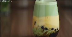 自制3成脏脏奶茶:黑糖珍珠芒果椰奶抹茶拿铁