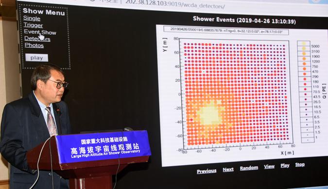 中国LHAASO投入科学观测 成立天府宇宙线研究中心