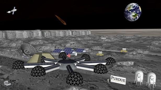 普渡大学正在研发智能弹性太空栖息地