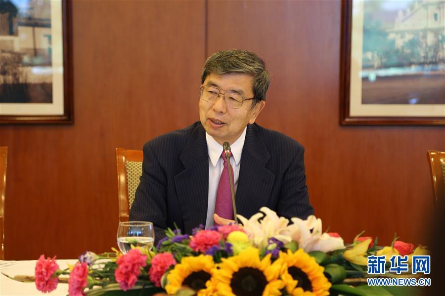 """亚行行长:愿继续与中国就""""一带一路""""建设开展合作"""