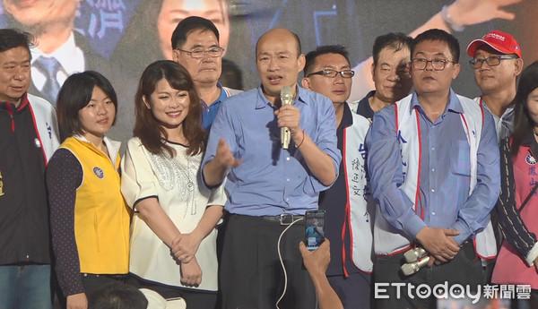 韩粉拱选2020 韩国瑜深夜回应:听到了?#37096;?#35265;了
