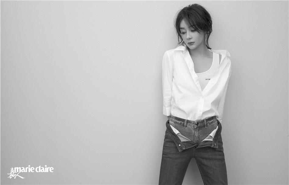 袁姗姗杂志大片曝光 时髦高级呈现女性力量
