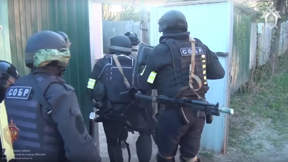 """俄侦查委员会:""""?#20102;?#20848;国""""7人秘密分支在俄被捕"""