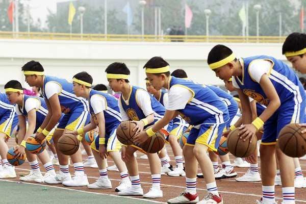 北京:锻炼体质 追逐梦想