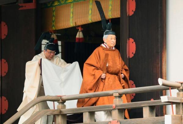 明仁天皇退位仪式结合传统与现代,11项仪式至今日全部完成