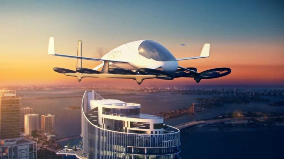 迈阿密世界首个飞行汽车空港即将建成