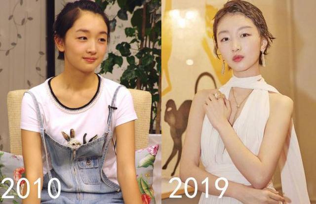"""明星""""十年""""对比,赵丽颖像换了人,baby的变化最大!"""