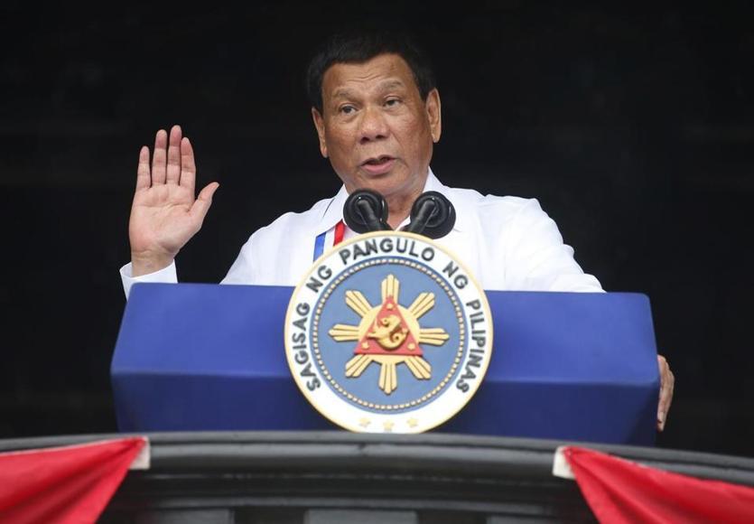 菲律宾总统办公室:杜特尔特承诺中国不允许核武器出现在菲律宾