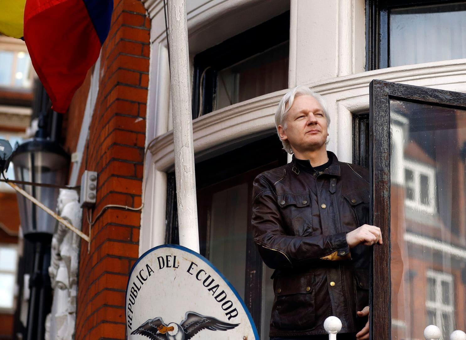 快讯!维基解密创始人阿桑奇在英被判50周监禁,因违反保释条例