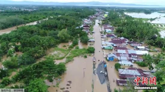 今年1月至4月印尼发生1586次灾害死亡325人