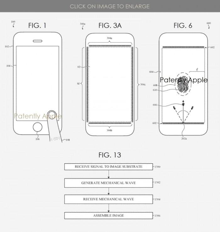 苹果赢得屏幕下指纹认证的专利技术