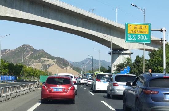 堵堵堵!京藏高速通行缓慢,拥堵超过10公里