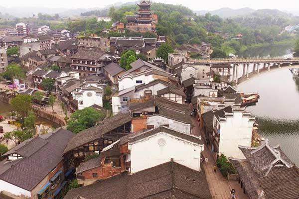 重庆安居:千年古城焕生机