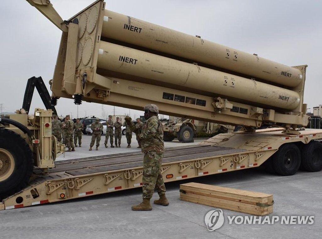 """朝鲜媒体批评美军在韩国""""萨德""""演习侵略"""