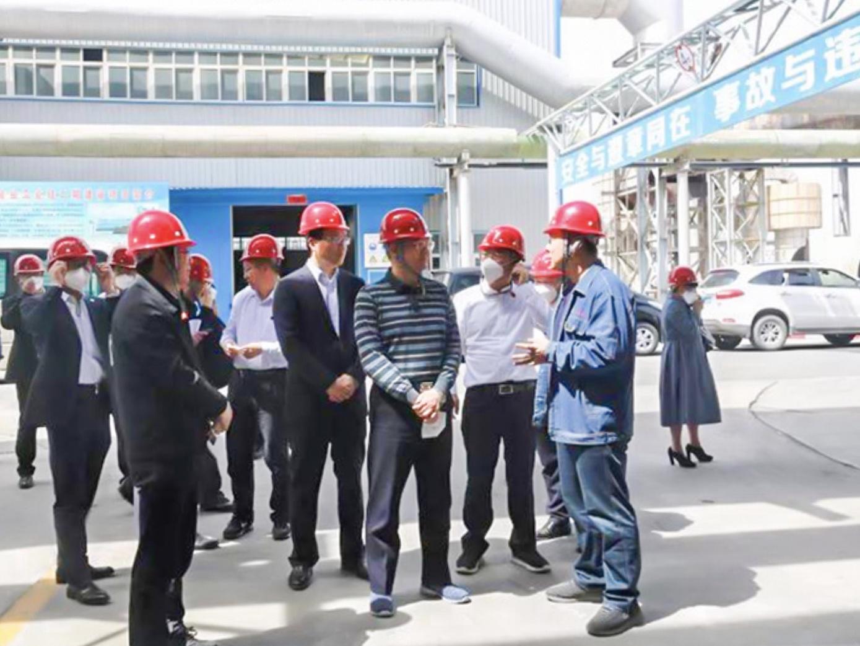 樊友山副主席率全国工商联第二联系调研组赴甘肃调研