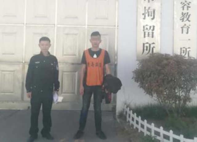 奇葩!外地游客在青岛驾车肇事逃逸 躲在交警队门口