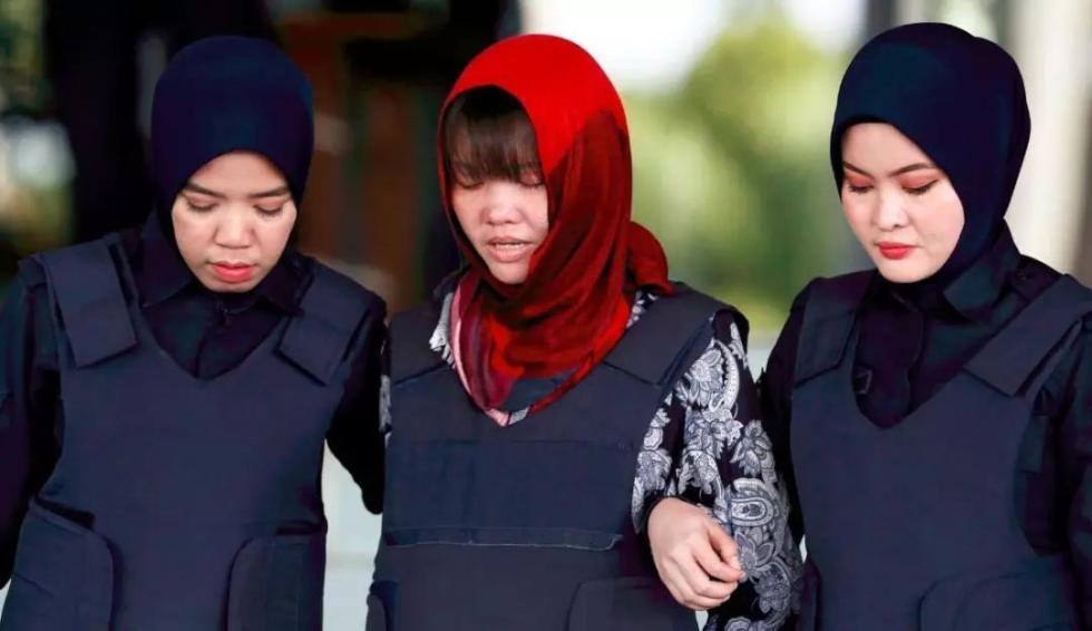 """马来西亚释放""""谋杀朝鲜金姓男子""""越南女嫌犯"""