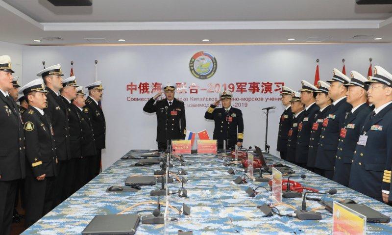 """中俄""""海上联合-2019""""军事演习闭幕"""