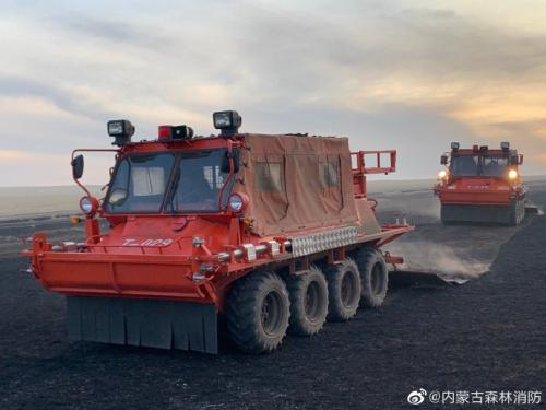 内蒙古呼伦贝尔市陈巴尔虎旗哈达图地区发生草