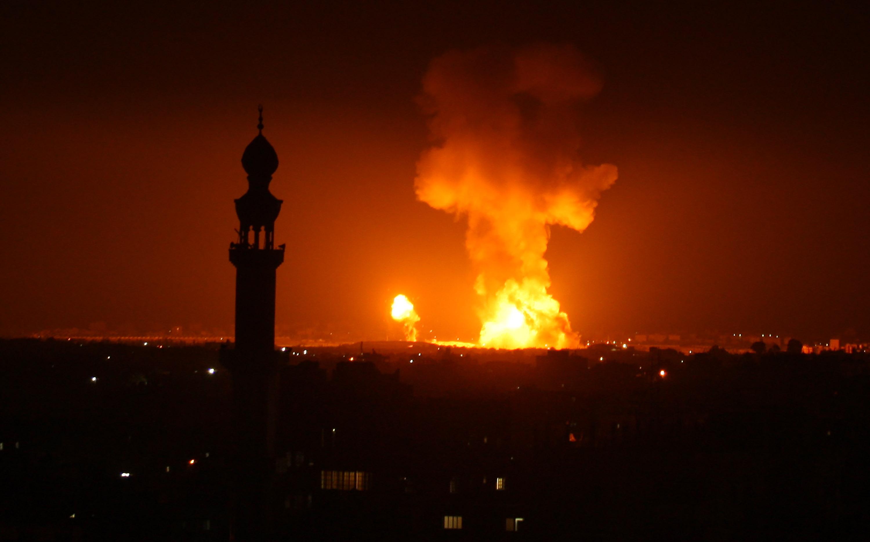 冲突升级!以色列回击加沙火箭弹袭击 致4人死亡