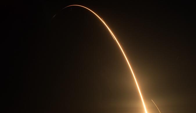 SpaceX再次升空 第15次为国际空间站运送物资