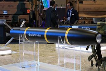 土耳其展示最新炮射导弹 将装备自研主战坦克