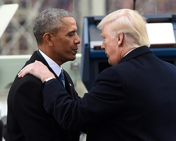 """传记透露奥巴马对特朗普2016年胜选震惊,感到""""被侮辱"""""""