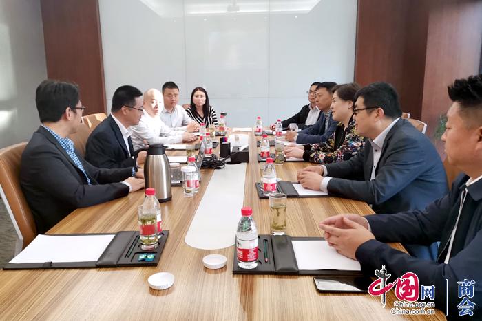 山西省委统战部副部长刘海芸赴浙江山西商会考察