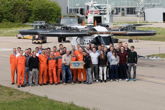 空客CityAirbus eVTOL原型机在德完成测试首飞