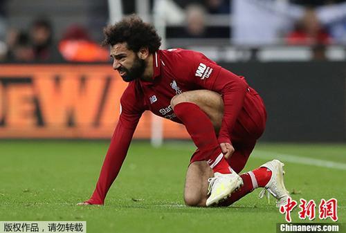 萨拉赫破门后伤退 利物浦绝杀保留英超争冠希望