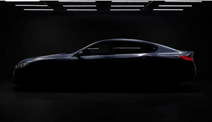 宝马8系Gran Coupe预告图发布 今年亮相
