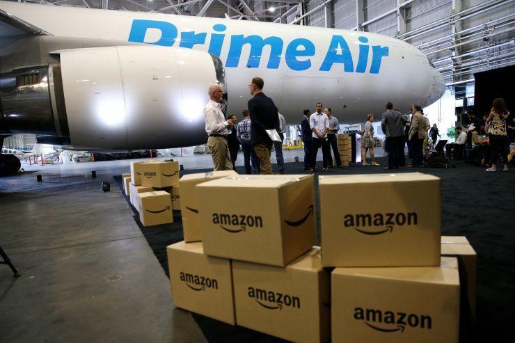 """亚马逊""""一日达""""快递覆盖72%美国人口 成本巨大"""