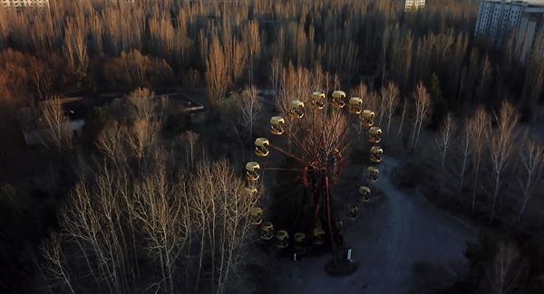 切尔诺贝利核事故30年后航拍:荒凉而美丽