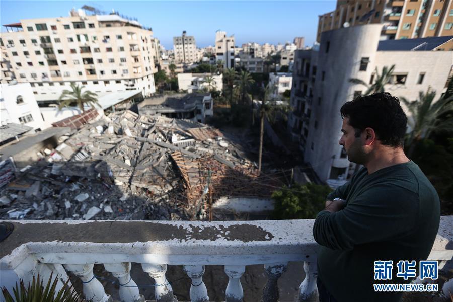 巴以冲突升级已致20多人丧生逾200人受伤